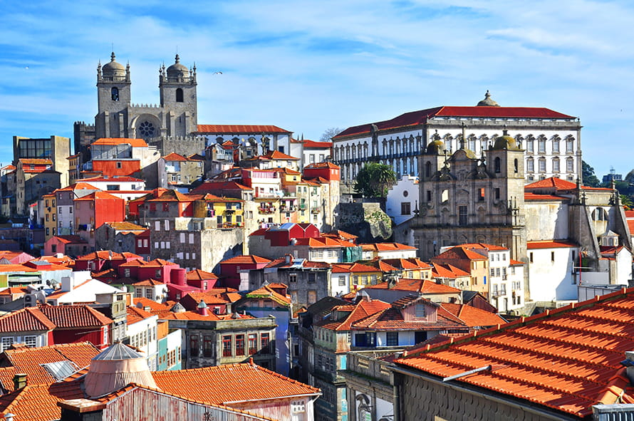 View over Porto rooftops