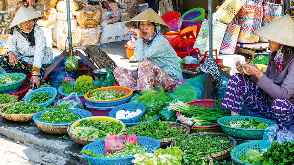 Explore Travel guide: Vietnam food market