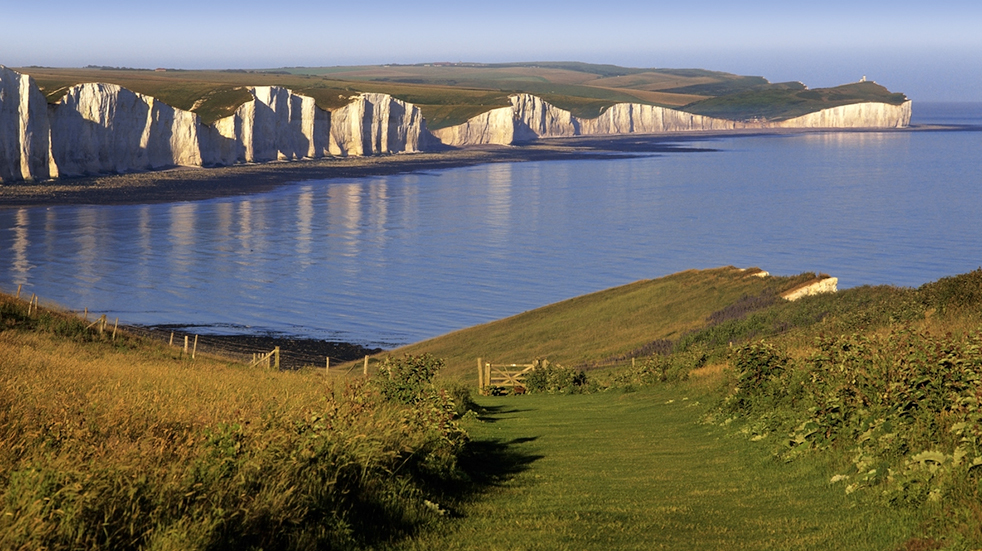 Family walking trails: Seven Sisters, South Downs National Park
