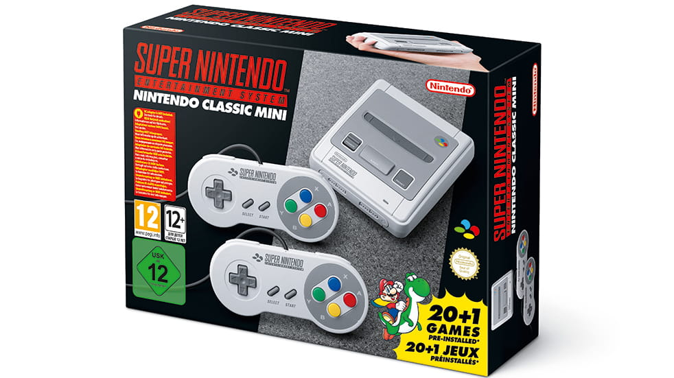 Father's Day gifts: Super Nintendo Mini