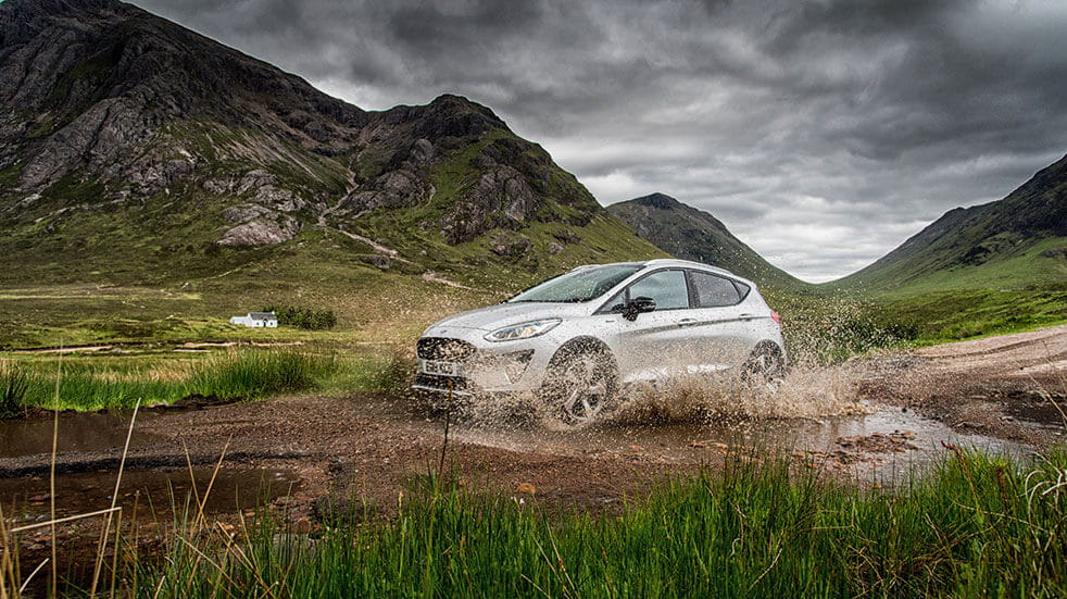 Ford fiesta review - Ford driving terrain