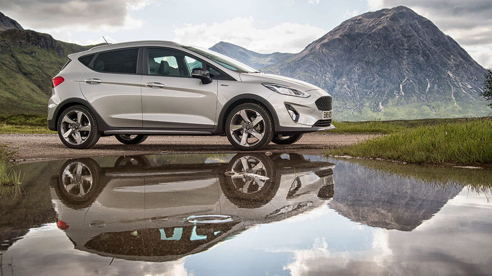 Ford fiesta review - Ford in reflection