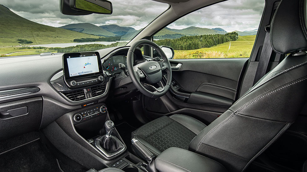 Ford fiesta review - Ford interior