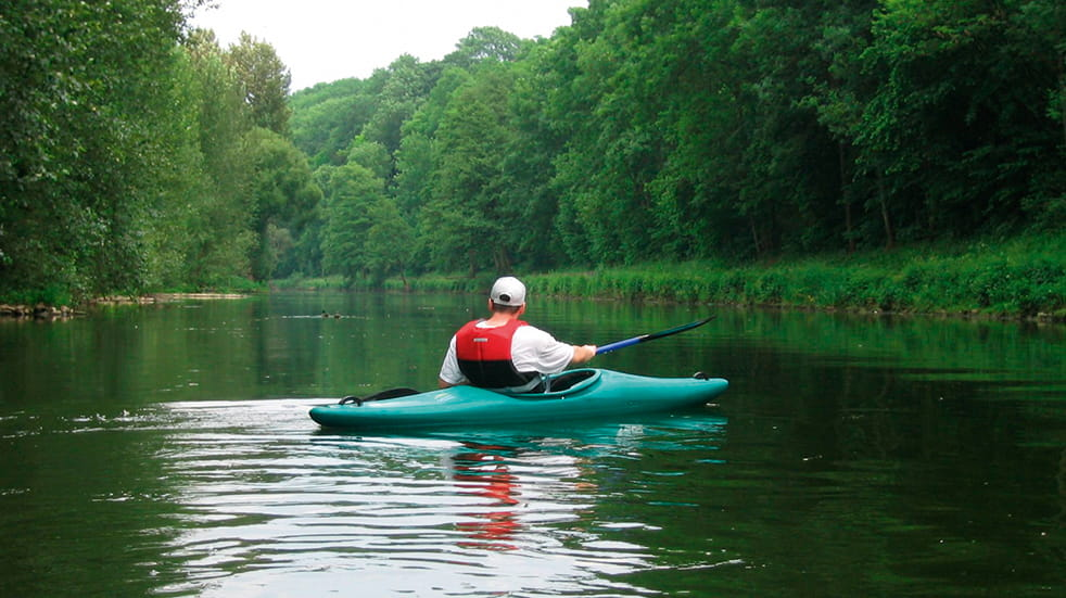 Family break in the Forest of Dean - Wyedean Canoe Centre