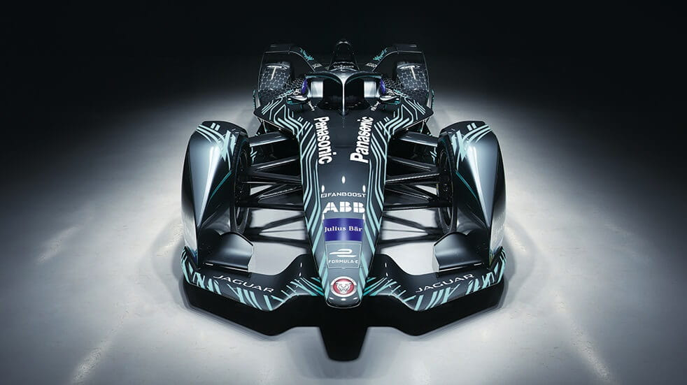 Formula E 2018/19 season Panasonic Jaguar I-Type