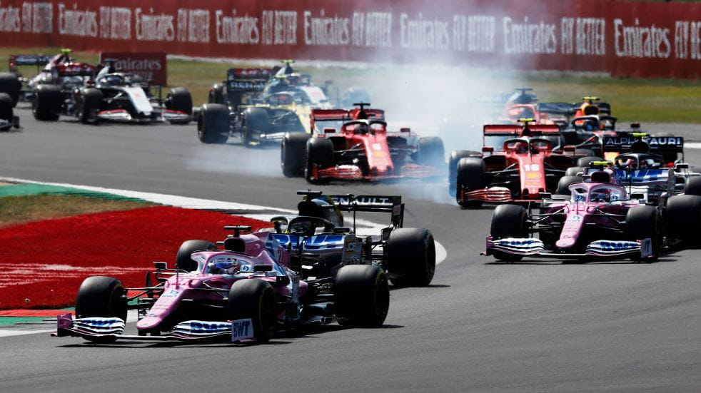 Free events March Silverstone F1