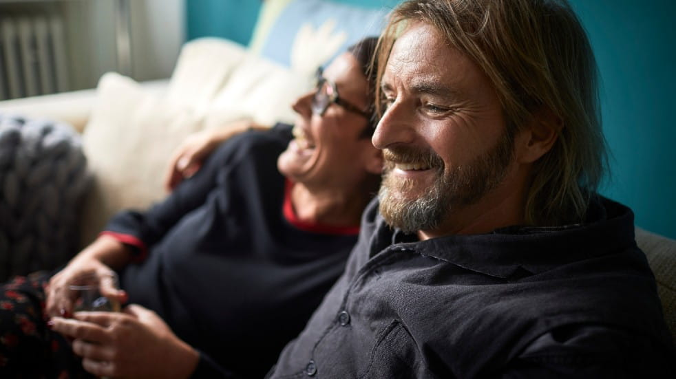 Free events March couple laughing