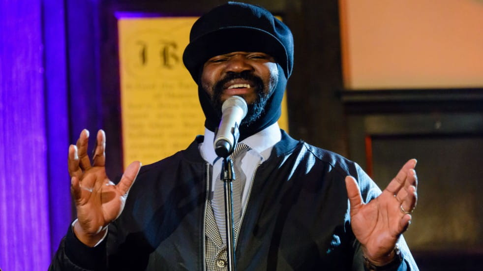 Free events in May 2021 Gregory Porter on stage