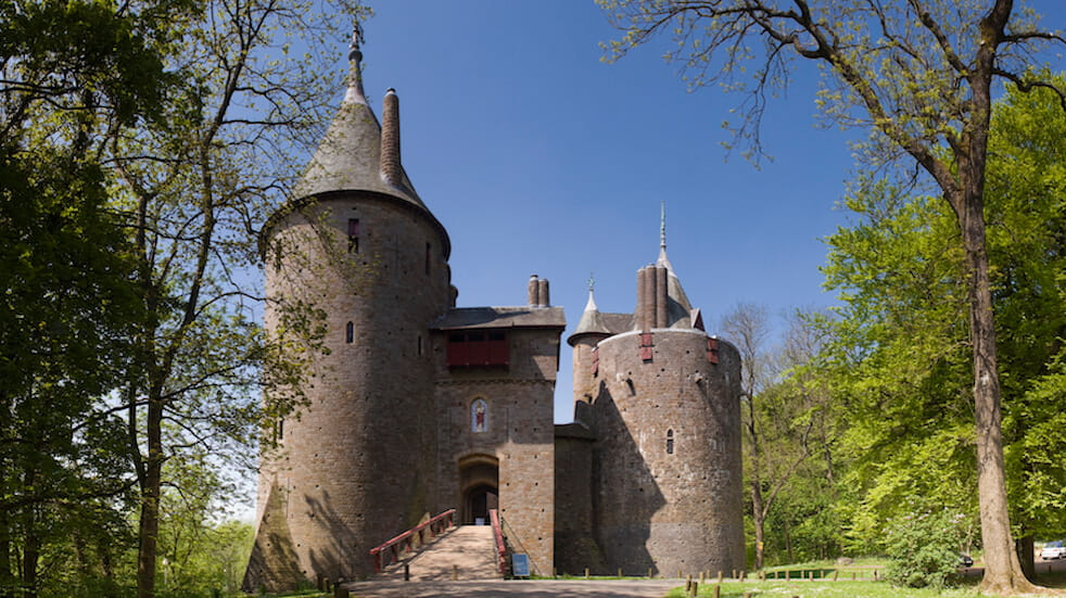 Free things to do in South Wales: walk Forest Fawr, starting at Castle Coch