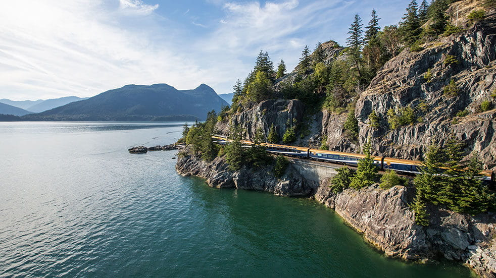 Frontier Canada travel guide: the Rocky Mountaineer railway journey