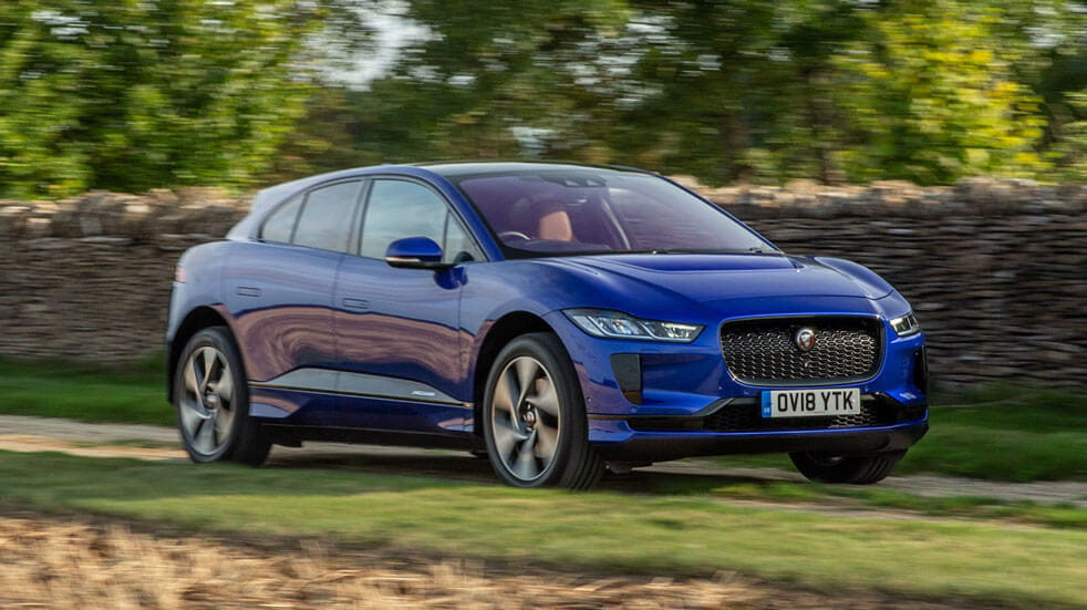 Guide to electric cars Jaguar iPace