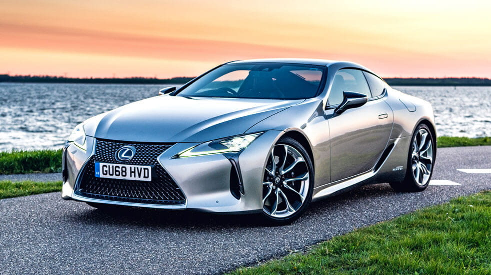 Guide to electric cars Lexus LC