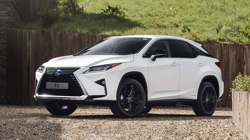 Guide to electric cars Lexus RX