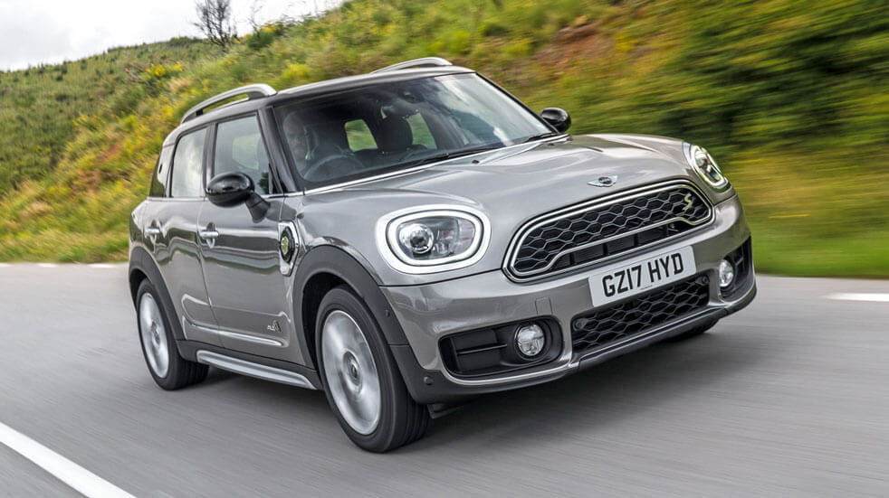 Guide to electric cars Mini Countryman Cooper SE