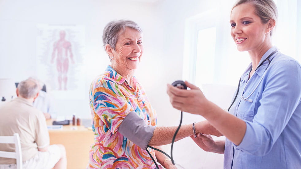 Blood pressure is a key health indicator, and needs to be monitored regularly