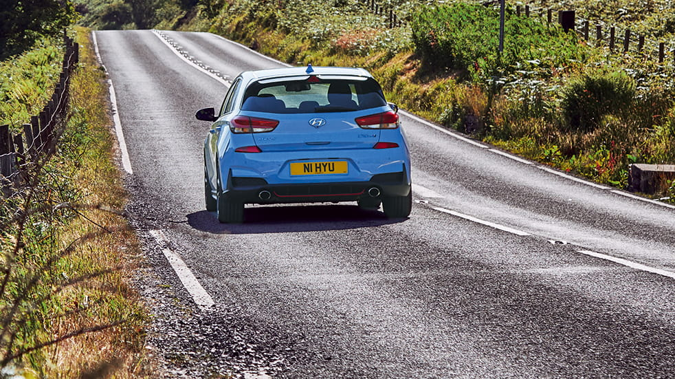 Hyundai i30N car review: rear