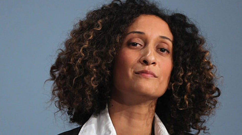 International Women's Day Katharine Birbalsingh looking at camera