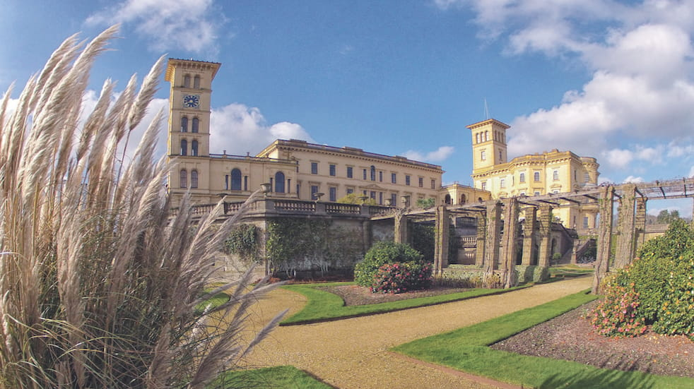 Osborne House is Queen Victoria's palace by the sea