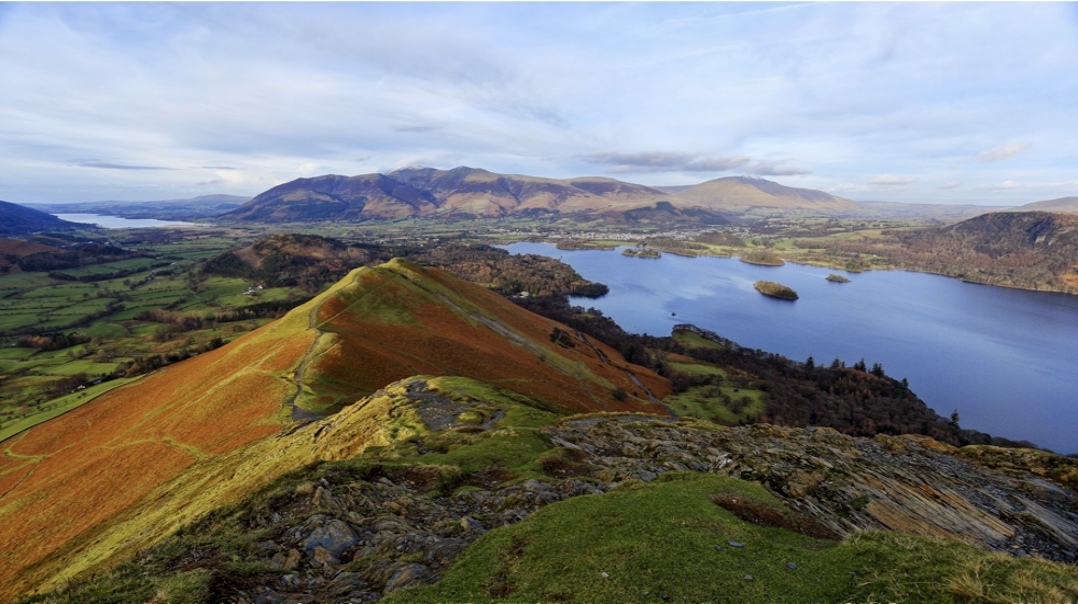 View from Catbells Cumbria