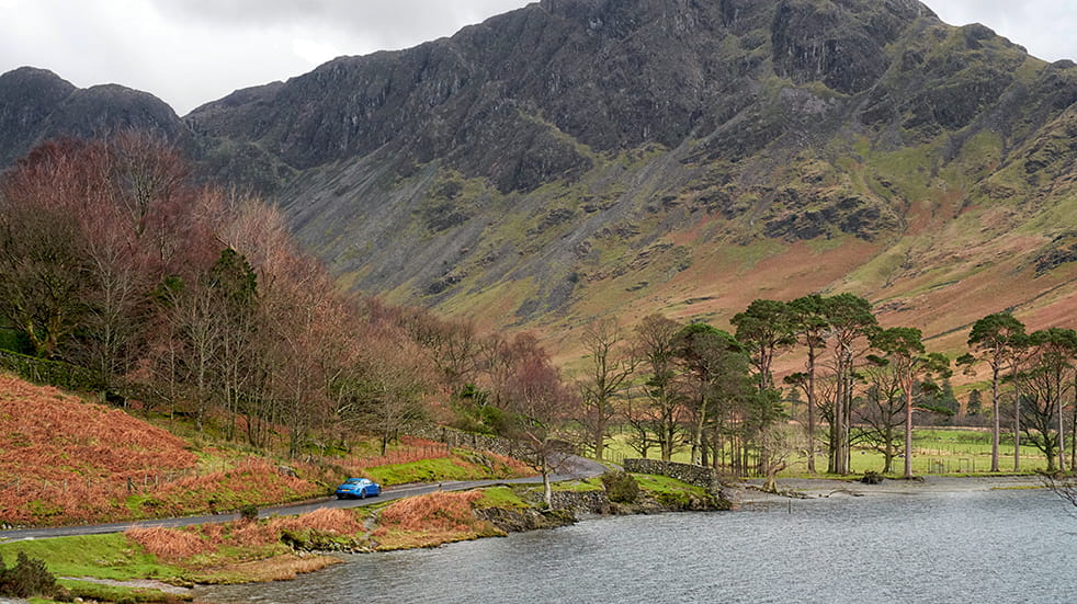 Lake District great drive: road trip past Buttermere Lake