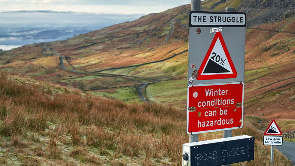 Lake District great drive: road trip up The Struggle