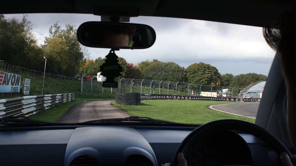 Learn to drive under 17 - Car Club at Castle Combe