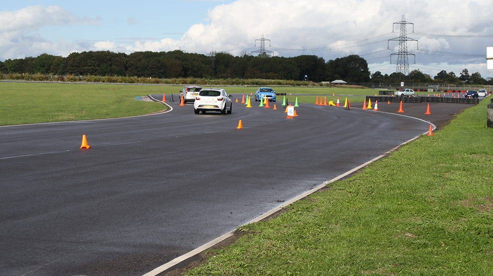 Learn to drive under 17 – race track