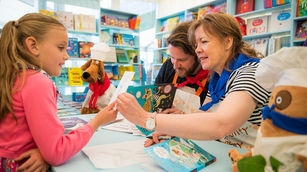 Literature festivals for kids Hay Festival