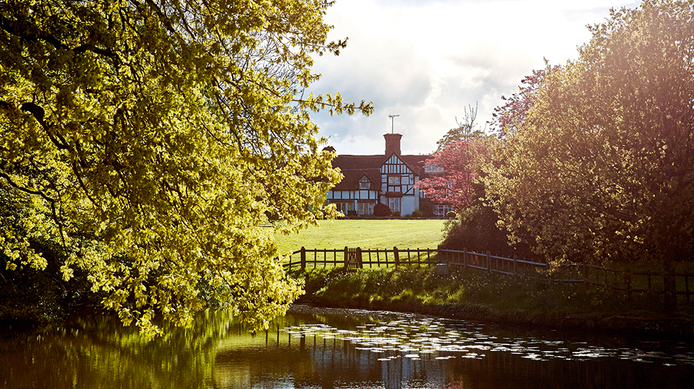 Local food and drink Sussex: Ghyll Manor Hotel and Restaurant