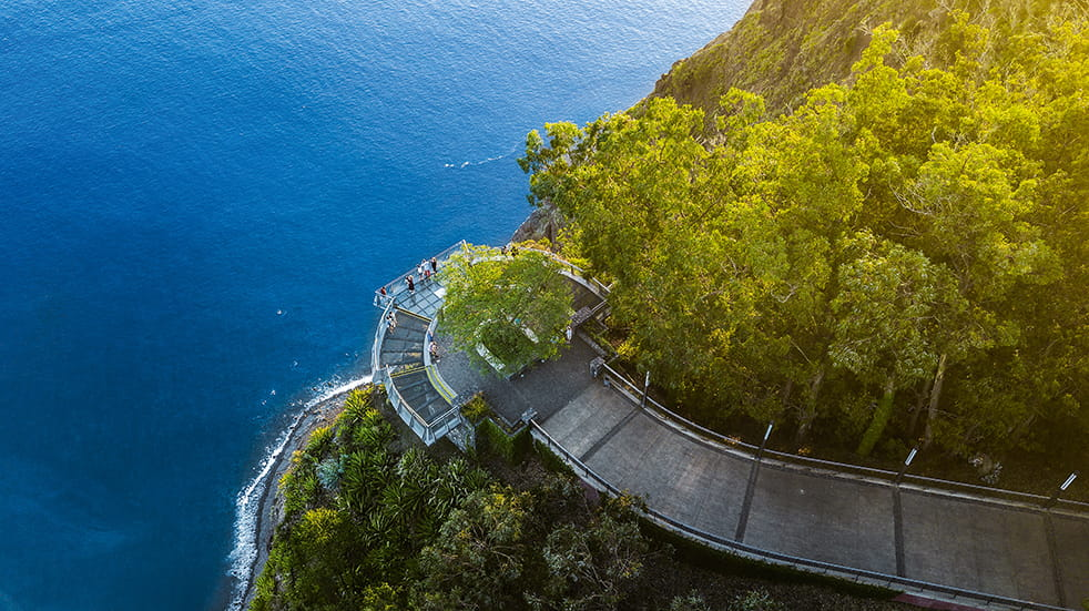 Madeira holiday guide: Cabo Girao cliffs and glass platform