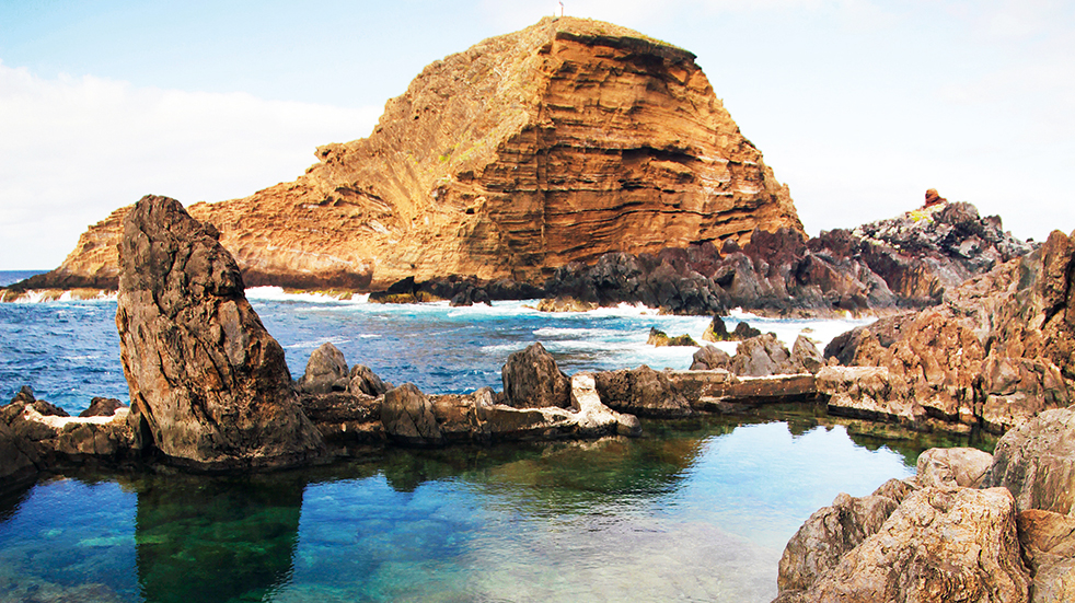 Madeira holiday guide: Porto Moniz rock formations