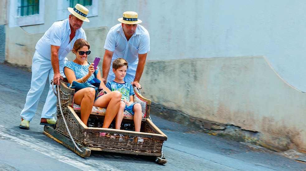 Madeira holiday guide: toboggan ride