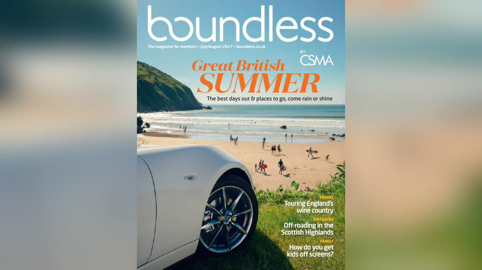 Boundless Magazine July August 2017