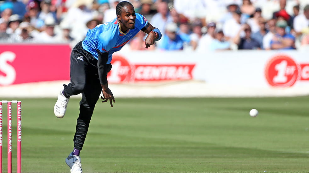 Meet Jofra Archer: T20 Sussex Sharks bowler