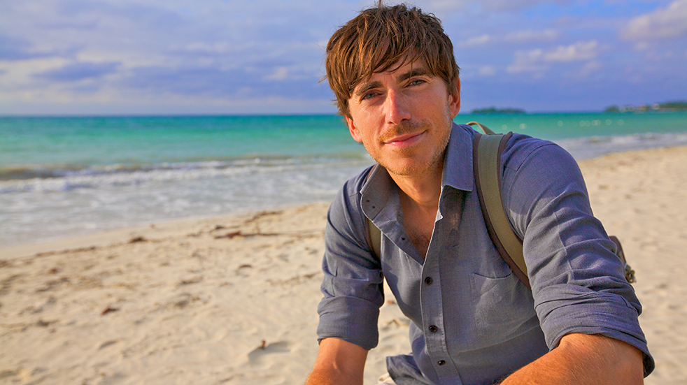 Meet Simon Reeve, travel presenter