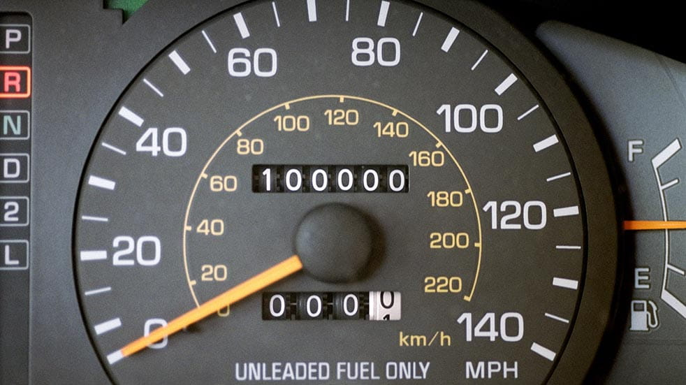 Letters; odometer