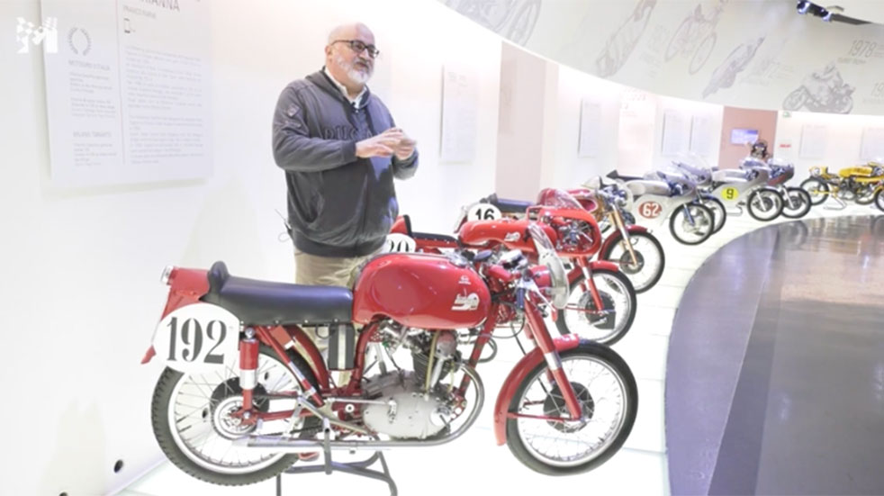 Motor Valley virtual tour Ducati Museum