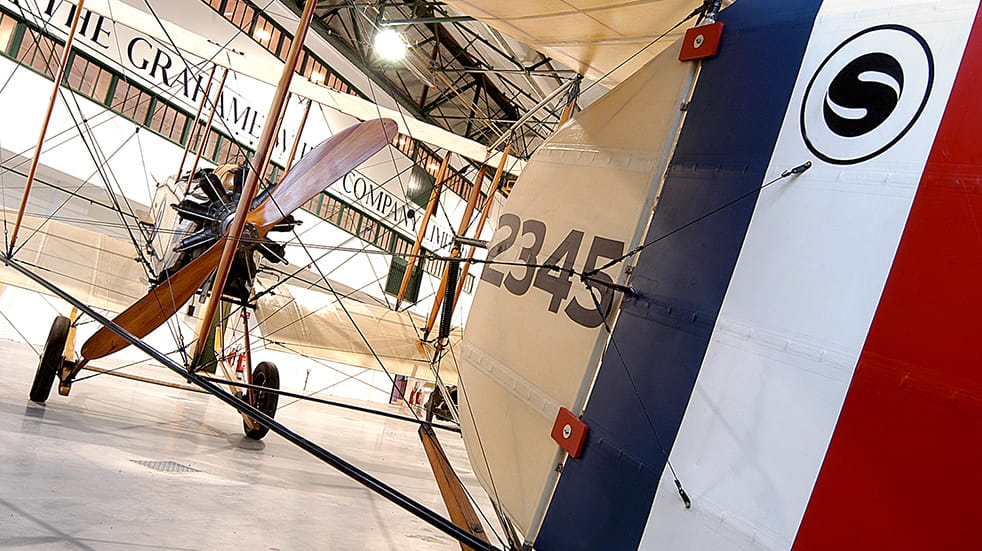 Museums at Night late night events: British Sign Language Guided Tour: Royal Air Force Museum, London