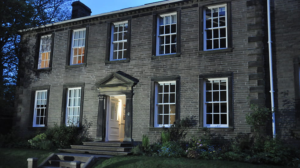 Museums at Night late night events: spooky storytelling at Bronte Parsonage Museum, Keighley