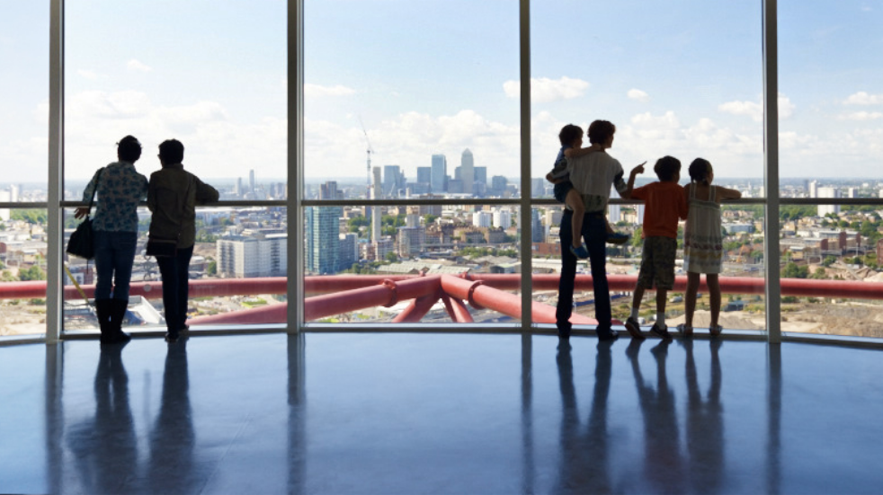 New things to see and do in London: ArcelorMittal Orbit slide viewing platform