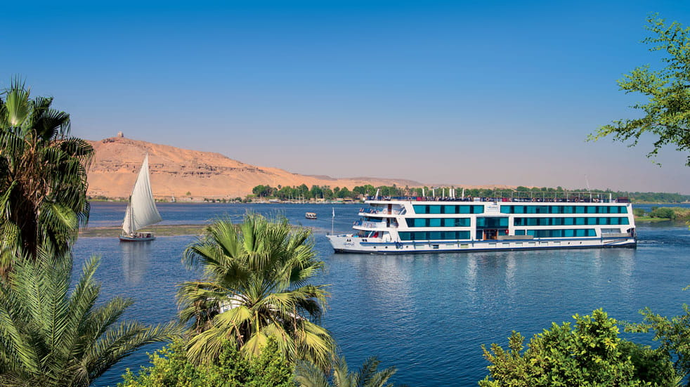 See the Nile from a traditional Felucca or a state of the art cruise ship