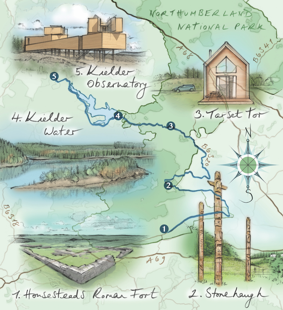 A great drive in Northumberland: things to see and do in Kielder