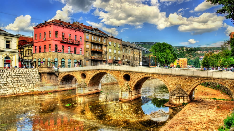 Perfect city break: Sarajevo Latin Bridge