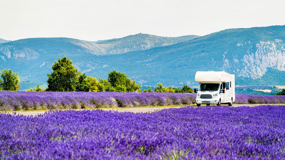 Plan your first motorhome holiday; driving in France