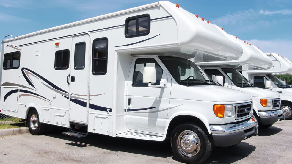 Plan your first motorhome holiday; new motorhomes