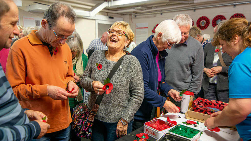A tour of the Richmond poppy factory