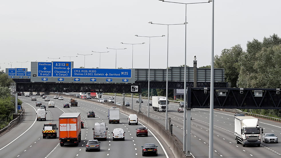 Public Service Day: Highways England manage motorways and A roads, M25