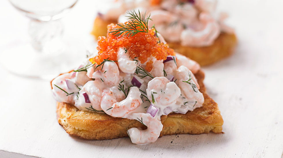 Recipes from around the world; prawn toast