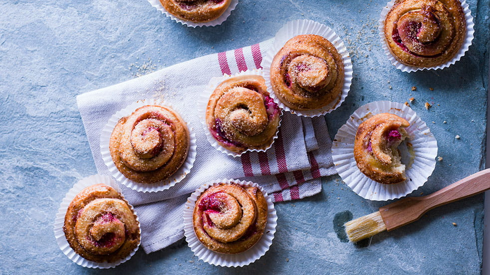 Recipes from around the world; Swedish buns