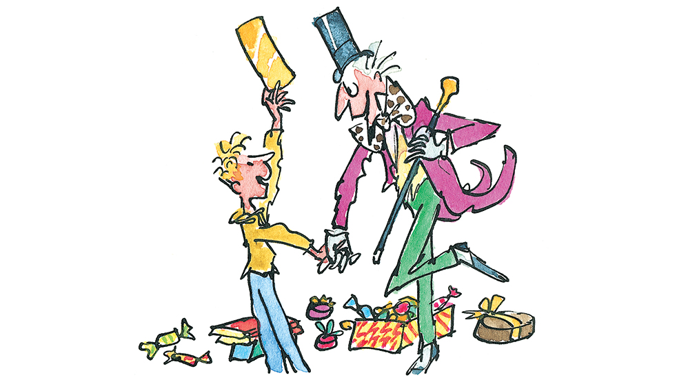 Roald Dahl Day: Willy Wonka and Charlie and the chocolate factory